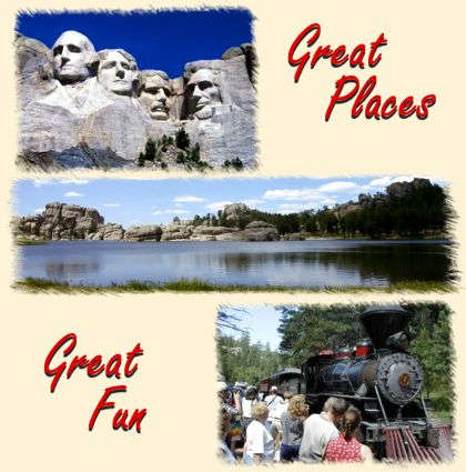 Vacation Fun at Mount Rushmore in the Black Hills